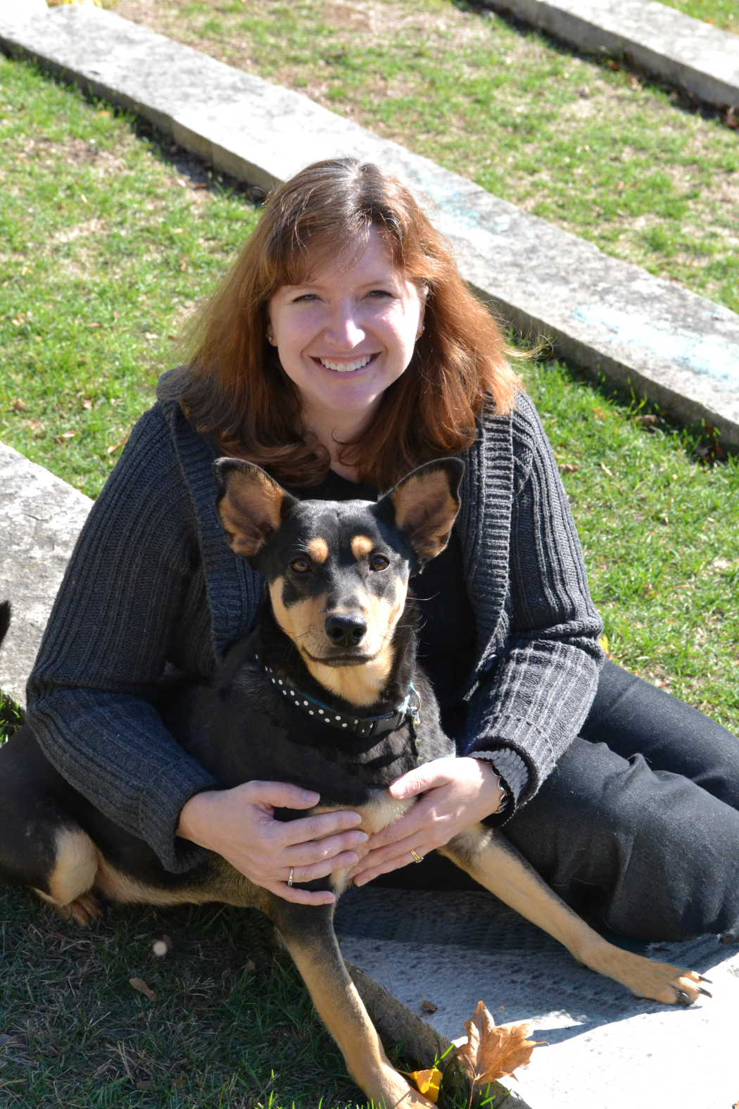 karin-with-dog2012.JPG
