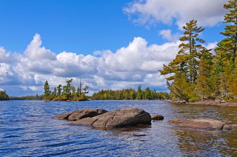 Little Saganaga Lake in the Boundary Waters in Minnesota Photo taken on: September 21st, 2012 by Steven Prorak