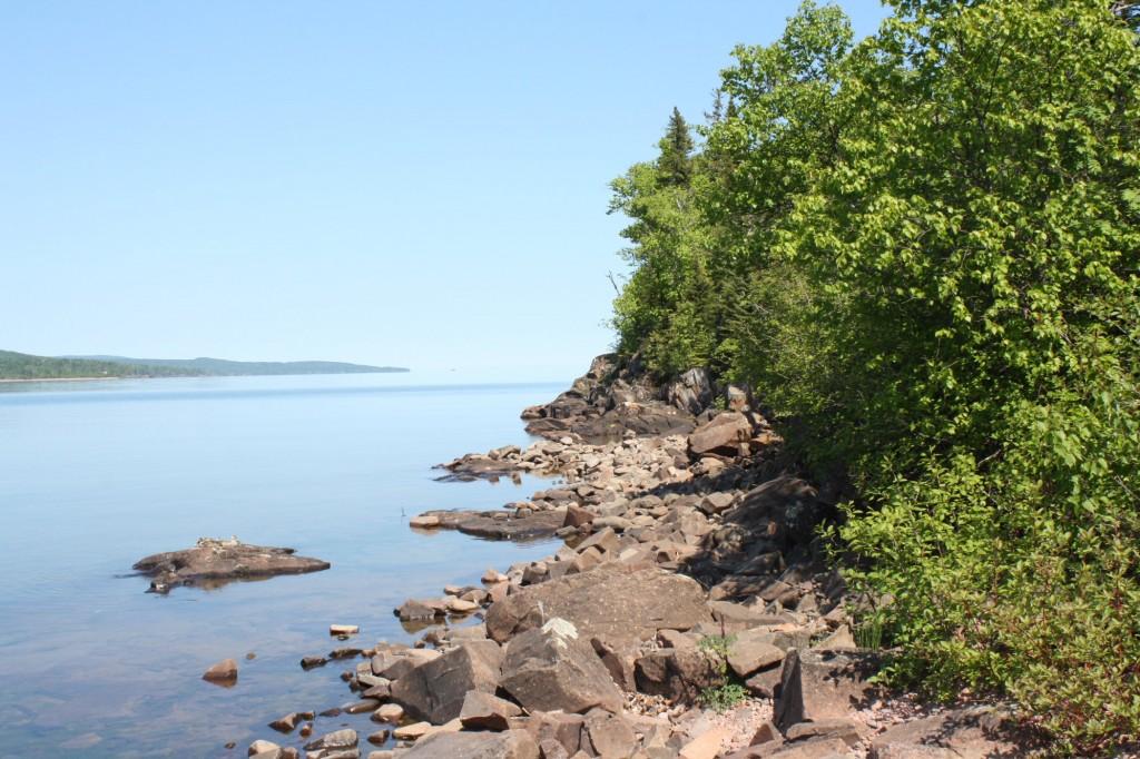 Grand Marais, Minnesota, Lake Superior, July 3, 2013, photo Karin Blaski