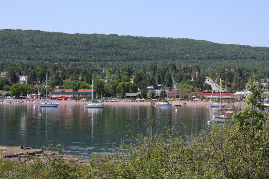 Grand Marais Harbor, Minnesota, July 2, 2013, Photo by Karin Blaski