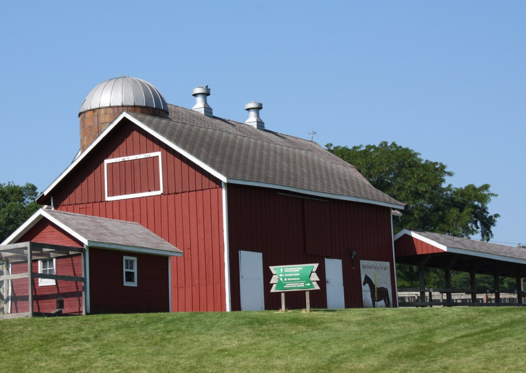 Children's Farm, Lockwood Park, Rockford, IL, photo by Karin Blaski, July 17, 2013