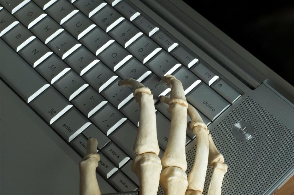 Skeletal hands