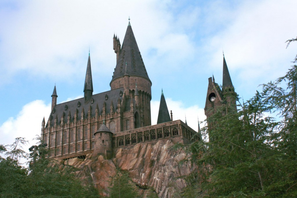 Hogwarts castle, World of Harry Potter, Universal Studios, Orlando, FL