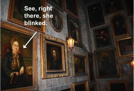 Hall of Portraits, Hogwarts Castle, World of Harry Potter, Universal Studios, Orlando, FL