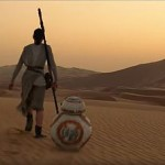 Heroine on harsh desert planet.