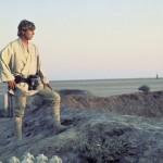 Hero on harsh desert planet