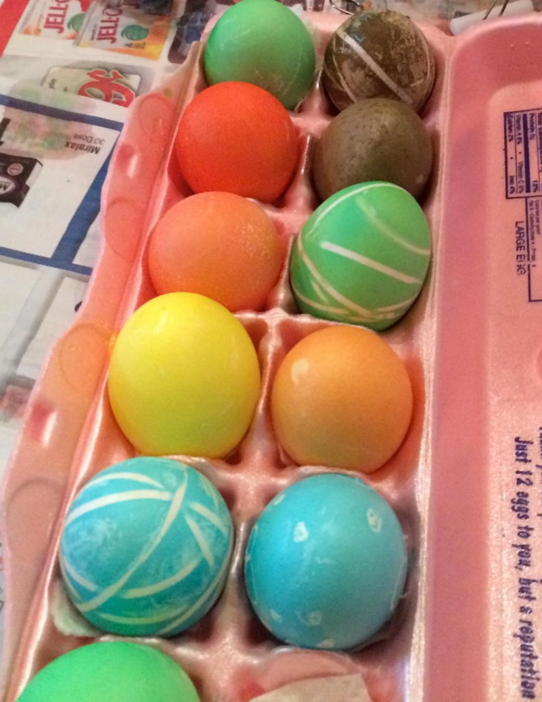 Are you thinking what I'm thinking? If this stuff can color eggs, what's it doing to your body if you drink it?