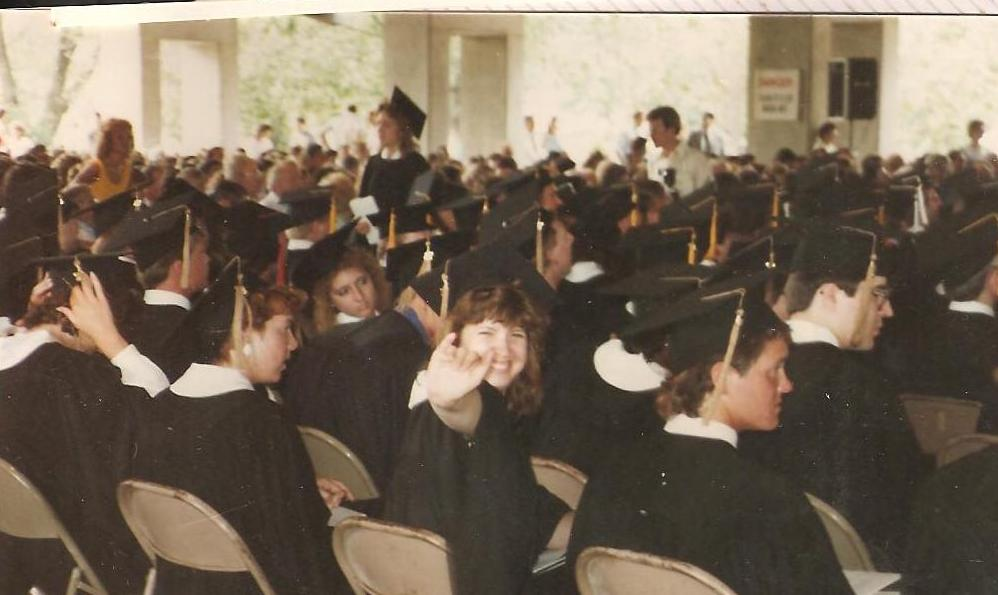 Millikin University graduating class of 1987. Uh oh, now you can figure out how old I am...