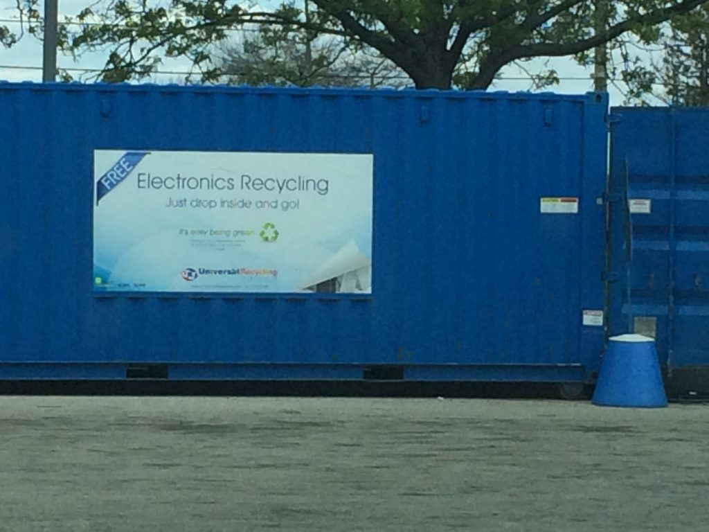 Live near Rockford? Got electronic junk? Take it here.