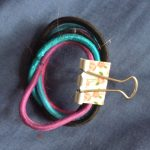 clipped hair ties